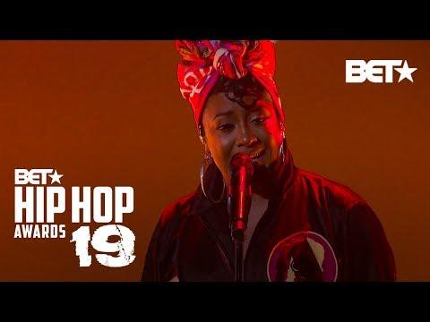 Rapsody Raps Powerful 'Nina' And 'Serena' Performance! | Hip Hop Awards '19