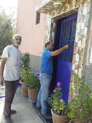 Ongoing Campaign of beautification (Painting and Harmonization) of the villages by the Volunteers of Anouar Association. #AnouarAssociation #Anouar #Associationanouar #Charity #helpinghands #bienfaisa