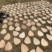 guitar pick wall art