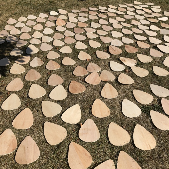yard full of picks