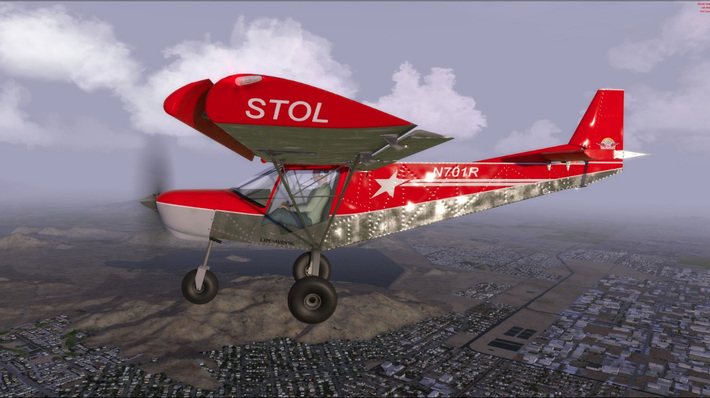 Zenith Stol 701 Next Generation Flight Simulator Zenith Aircraft Builders And Flyers