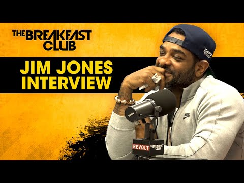 Jim Jones Stays Hush On 6ix9ine Case + Addresses 50 Cent