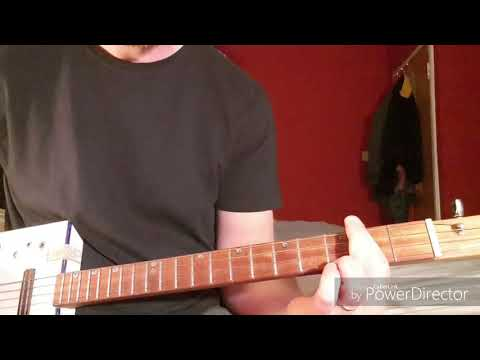 How to play Pretty Vacant by Sex Pistols on Cigar Box Guitar