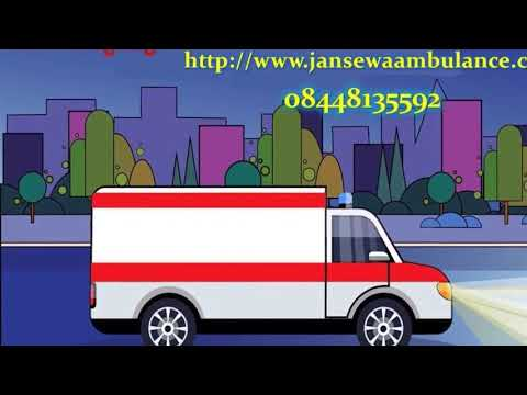 Book Low Budget Ground Ambulance Service in Ranchi and Patna