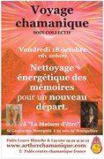Voyage chamanique, voyage intérieur le 18/10 à 20h