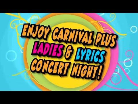Dr Brenda Jefferson Present Ladies & Lyrics 2019 Carnival Invitation