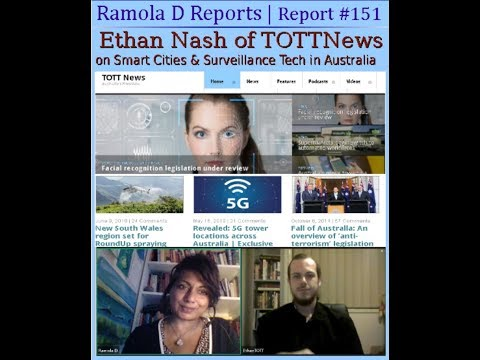 Report #151: Ethan Nash, TOTTNews: Smart Cities & Surveillance Tech in Australia