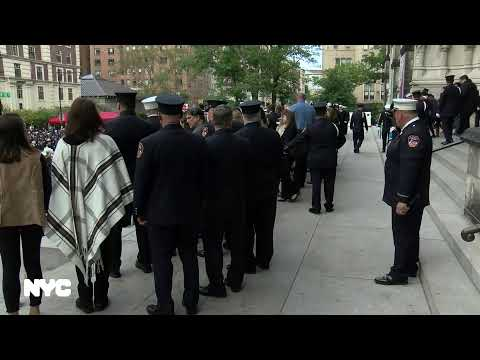 2019 FDNY Memorial Day Ceremony