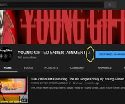 Youtube Verified!! Young Gifted Entertainment Official Artist Channel...(OAC) If You See The Musical Note Next To Our Name...(It's Official)