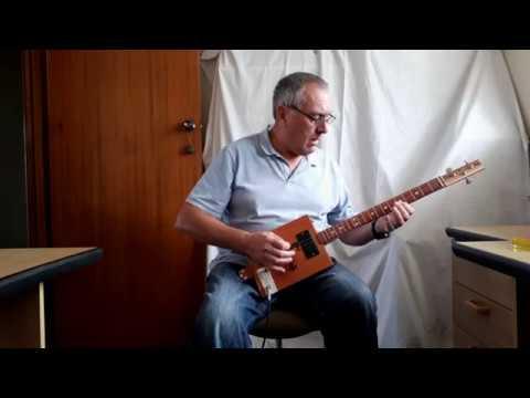 Fleetwood Mac - Albatross - Cigar Box Guitar
