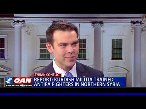 Kurdish militia trained Antifa fighters in Northern Syria