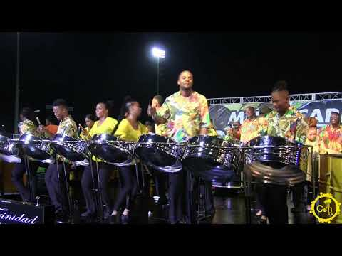 Trinidad All Stars at Miami Carnival Panorama 2019