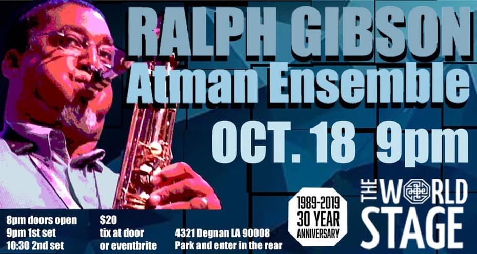 "Atman Ensemble feat. ""Big"" RALPH GIBSON & James LOVE"
