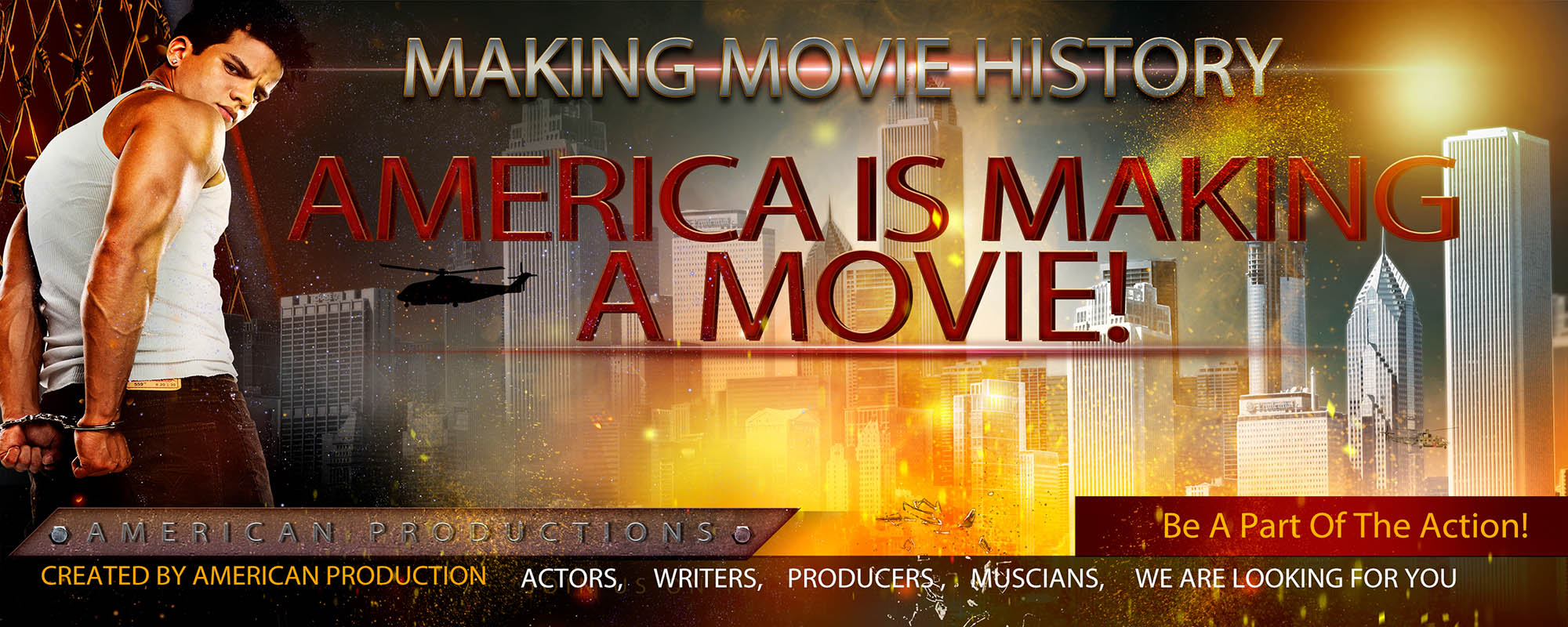 America Is Making A Movie Logo