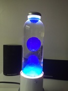 My third attempt [Lava lamp with Vaseline (petroleum jelly)]