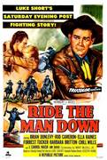 Ride the Man Down (1952)