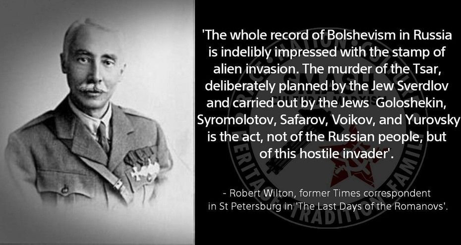 Bolshevist Alien Invasion
