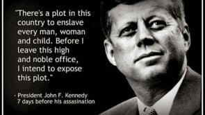 64; JFK HAD WARNED US, ABOUT KOSHER NOSTRA's  PLOT to ENSLAVE HUMANITY