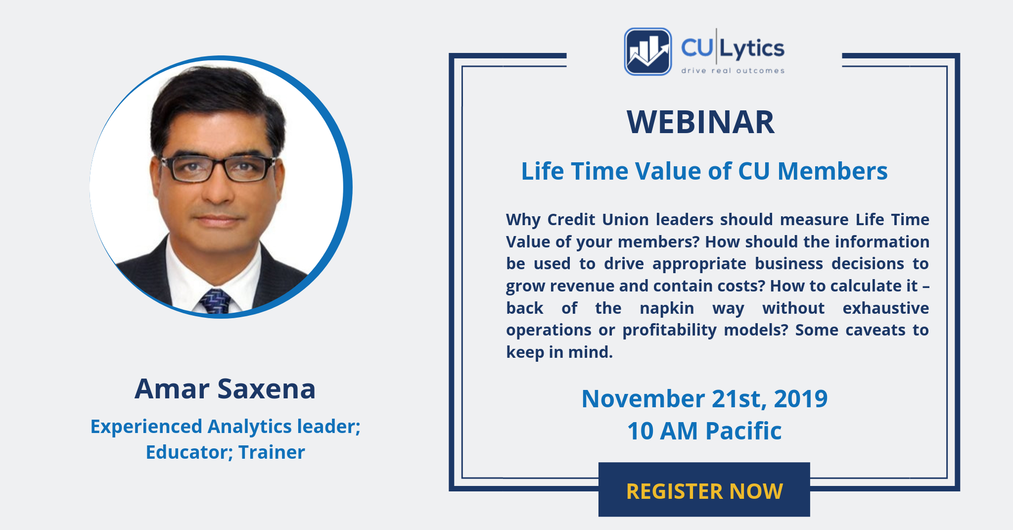 Webinar - Life Time Value of your members