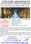 Ateliers akashiques niveau 1 par Colette Salvanez