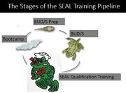 PREP, BUD/S and SQT (Stages of a S.E.A.L)