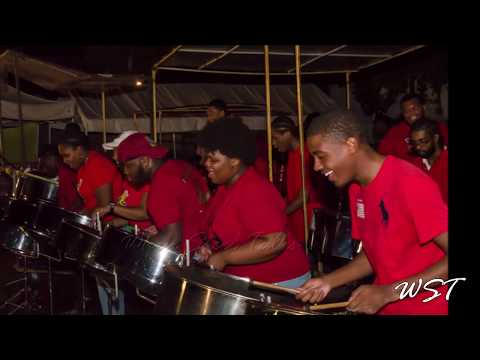 CrossFire Steel Orchestra - Trouble In The Morning - ('Cool Down' version) - Video