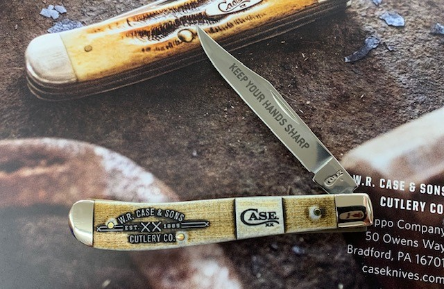 Case Ossian Hardware Event Knife
