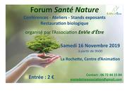 Forum santé nature la rochette