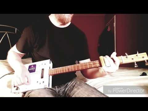 Girl You Have No Faith In Medicine - White Stripes on Cigar Box Guitar