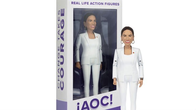 Ocasio-Cortez is getting her own action figure - The Hill