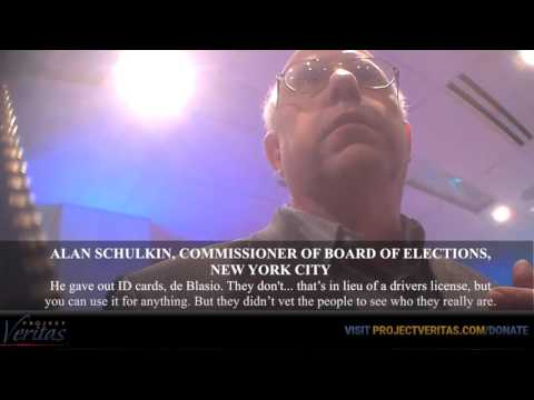 """HIDDEN CAM: NYC Democratic Election Commissioner, """"They Bus People Around to Vote"""""""