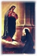 Il Sacro Cuore a S. Margherita Alacoque
