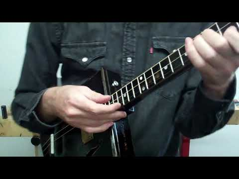 Acoustic Cigar Box Guitar -Testing Testing 1...2...3...