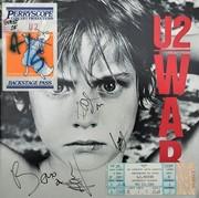 U2 Signed War Album