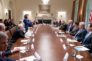 Nancy Claims Trump Had Meltdown Before She Stormed Out Of Meeting