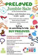Pre-Loved Jumble sale