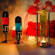 Replacement Glitter Bottle suitable for Mathmos Pod / Pod+ Lava lamp