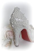 "Wedding Shoe - ""Love Is # 2"" Collaboration"