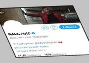 Shout Out To  Artist Dave Mac... Thx 4 supporting (One Love)  Young Gifted
