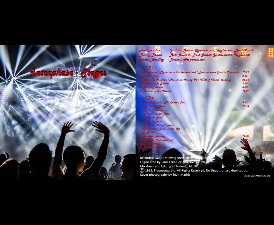 Two CD set: Stages