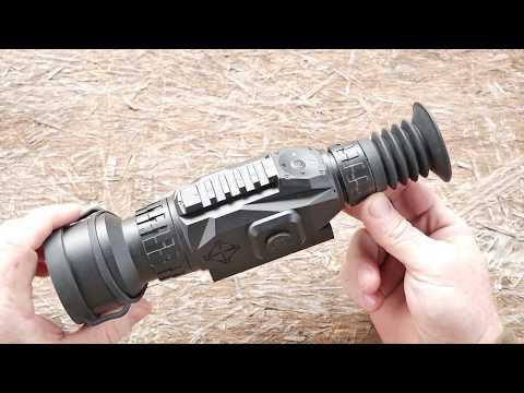 Wraith HD 4-32x50 Digital Riflescope Review & Demonstration