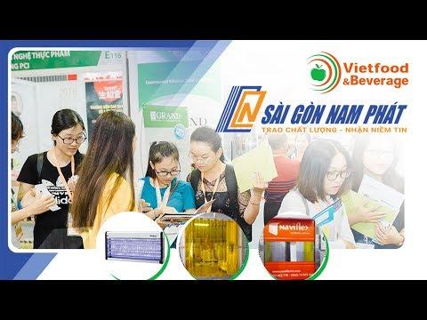 Cty Cổ phần Sài Gòn Nam Phát tại Vietfood & Beverage 2019