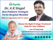 With Dr. A K Singal Choose the Right Urology Treatment Path For Your Children
