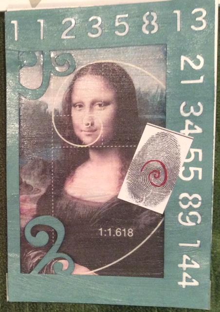 Mona Lisa fibonacci