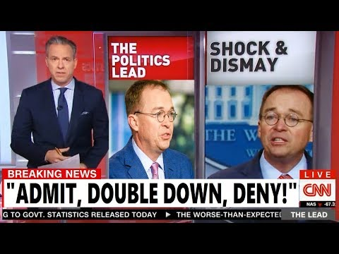 Mulvaney Confesses to Quid Pro Quo Ukraine scandal will be major reason Trump is impeached