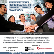 Championing a Diverse Workforce Networking Forum