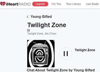 iHeartRadio  The Twilight Zone By Young Gifted   https://www.iheart.com/artist/young-gifted-30676568/songs/twilight-zone-81580076/