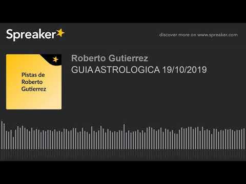 GUIA ASTROLOGICA 19/10/2019