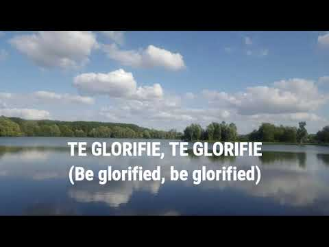 "GOSPEL NATIONS SINGERS "" QUE MA VIE TE GLORIFIE"" ""IN MY LIFE LORD BE BLORIFIED"""