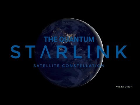 THE QUANTUM LINK:  ELON MUSK, STARLINK, NEURALINK, CERN, 5G, AND THE NEW WORLD ORDER